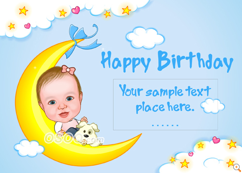 birthday card for kids