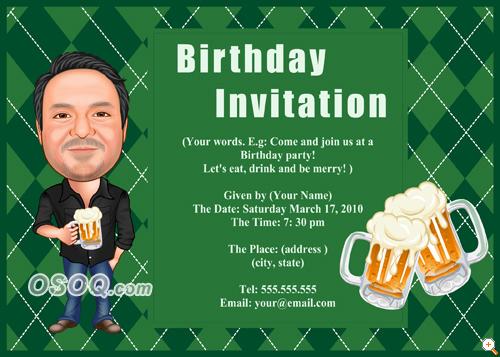 order 905005 invitation for happy birthday party price $ 49 00 happy ...